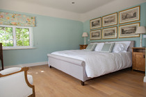 A light airy room with dual aspect